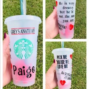 Grey's Anatomy Starbucks Cup.